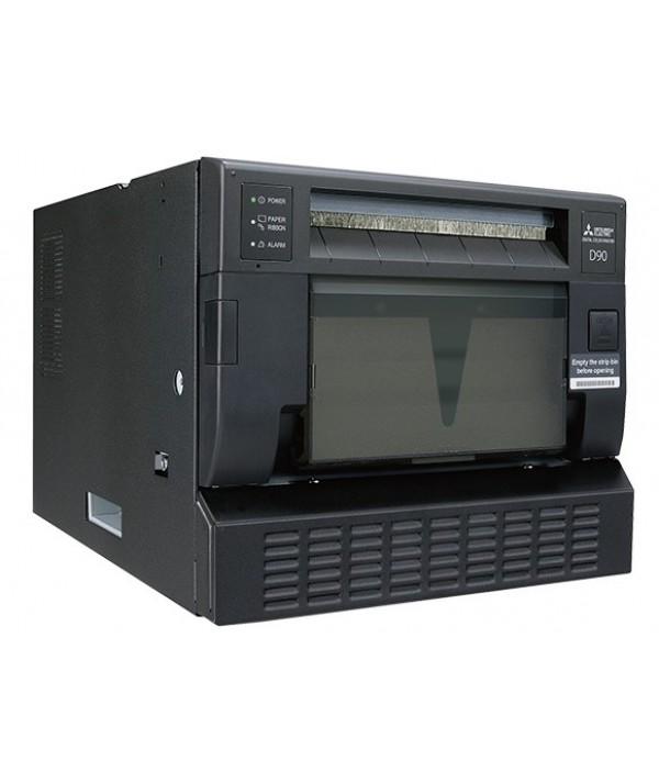 Mitsubishi CP-D90DW-SL Fotoğraf Baskı Cihazı+2 Rulo Kağıt