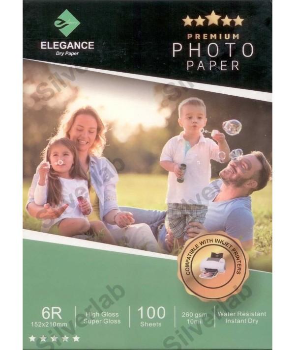 Elegance E-IJ PAPER SHEET 260 GSM GL (Parlak) 15X21 cm 100 Yaprak