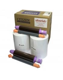 Citizen CX 10x15cm Kağıt & Ribbon (2x400 yaprak) Orijinal