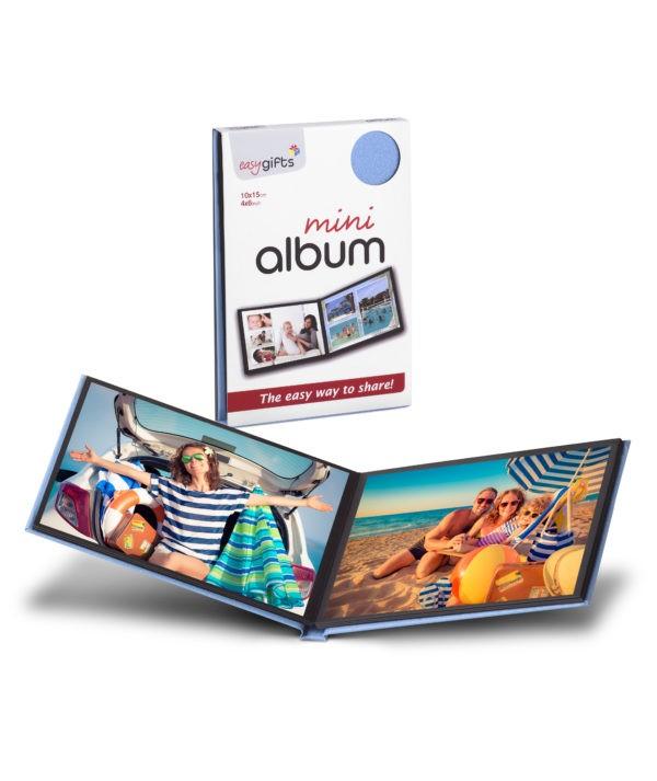 Mini Albüm 10x15 / 4x6 Mavi