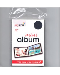 Mini Albüm 10x15 / 4x6 Siyah