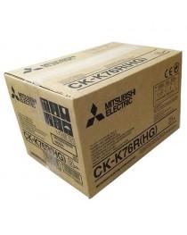 Mitsubishi CK-K76R CP-K60 için Termal Kağıt