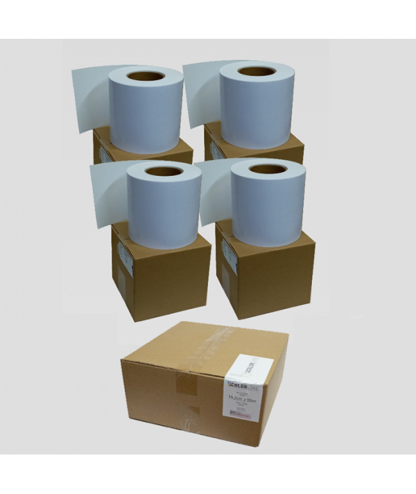 COLORLINE 15,2 cm x 65m Yarı Mat (Luster,Satin) Draylab 1 Rulo Kağıt 240gsm