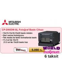 Mitsubishi CP-D90DW-SL Fotoğraf Baskı Cihazı (word& Maximum  6 Taksit )