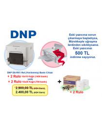 DNP DS-RX1 Ref. (Yenilenmiş) Termal Fotoğraf Baskı cihazı Takas Kampanyası