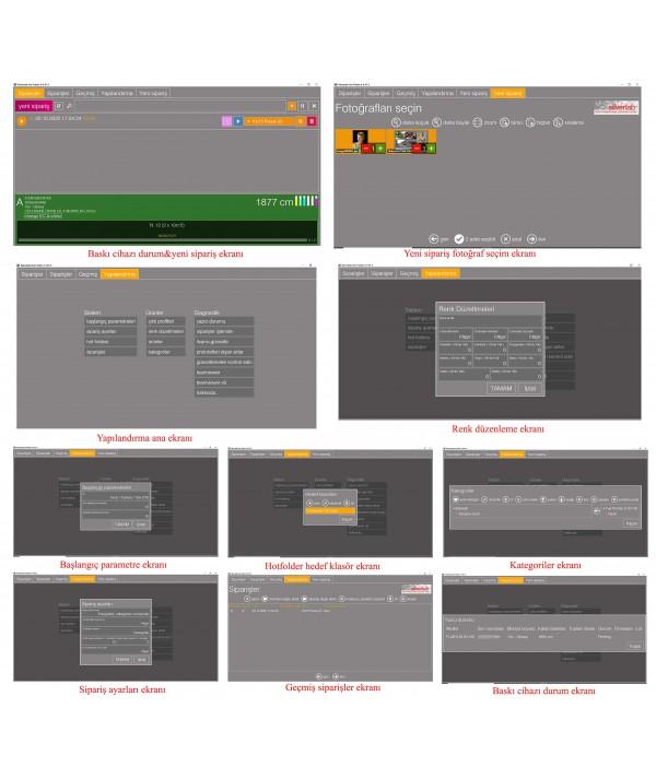 Silverlab Drylab Hot Folder Yazılımı