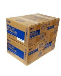DNP DS-40 10x15cm Kağıt & Ribbon (2x400 yaprak) Orijinal 4 KOLİ ALIM KAMPANYASI
