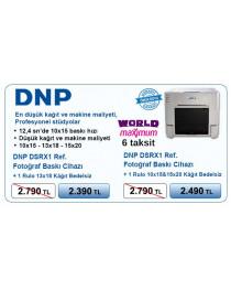 DNP DS-RX1 Ref. (Yenilenmiş) Termal Fotoğraf Baskı cihazı (world/maximum 6 taksit)+1 Rulo 13x18  Kağıt