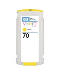 HP 70 (C9454A) Sarı Kartuş (130ml)