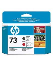 HP 73 (CD949A) Mat Siyah ve Kromatik Kırmızı Baskı Kafası