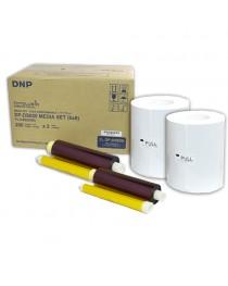 DNP DS620  15x20cm (6x8) Kağıt & Ribbon (2x200) yaprak) Orijinal