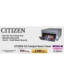 Citizen CX Fotoğraf Baskı Cihazı 6 Taksit(world / maximum)